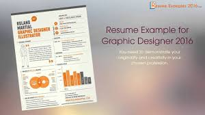 Best Resume Examples In 2016 Youtube