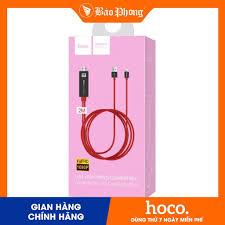Cáp HDMI dành cho iPhone / iPad HOCO UA4- Lightning to HDMI
