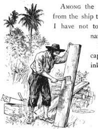 english teaching worksheets robinson crusoe english an image from robinson crusoe written anew for children by james baldwin daniel defoe
