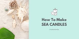 diy sea candles pretty and relaxing