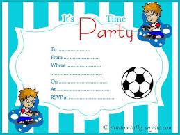 Birthday Invitations Printable Boys