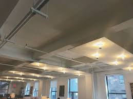 overhead office lighting. DIY Overhead Lighting Panels With Crown Bulbs Office
