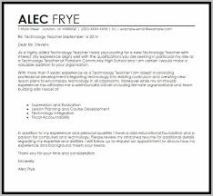 Cover Letter Examples For Resume Information Technology Cover