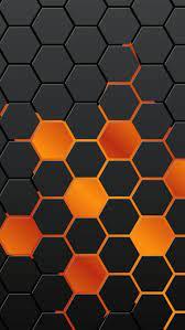 Orange wallpaper ...