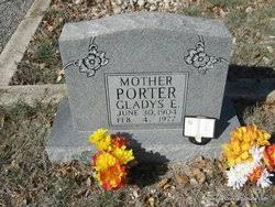 Gladys Evelyn Lane Porter (1904-1977) - Find A Grave Memorial