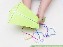 3 Ways To Make A Fast Kite With One Sheet Of Paper Wikihow
