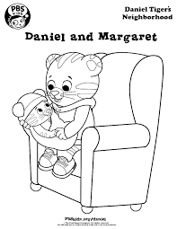 Daniel Tiger Coloring Page Alohapumehanainfo