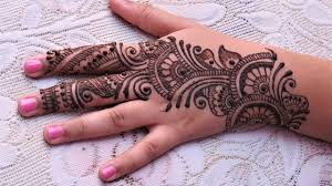 Easy Simple Arabic Henna Mehndi Designs For Hands Tutorial For Eid Arabic Henna Designs For Palm