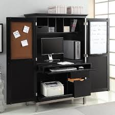 contemporary computer armoire desk computer armoire. Image Of: Dark Black Computer Armoire For Home Office Contemporary Desk I