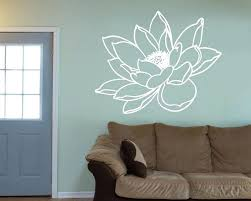modern wall decals water lily flower decal modern wall decals abstract