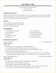 Example Of A Medical Assistant Resumes Medical Resume Template Free Of Medical Resume Examples