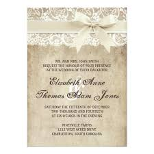 vintage elegance ribbon on lace wedding invitation zazzle com Ribbon On Wedding Invitation vintage elegance ribbon on lace wedding invitation tying a ribbon on a wedding invitation