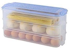 Buy Istara <b>Rectangle Refrigerator Storage Box</b> Three Layers ...