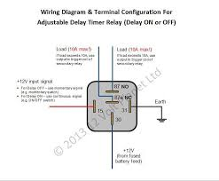 12v latching relay wiring diagram industrial latching relay wiring time delay relay operation at Timer Relay Wiring Diagram