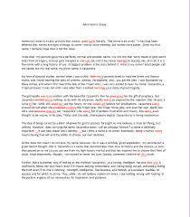 admission essays college admission examples samples com
