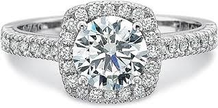 Precision Set Flush Fit Diamond Engagement Ring 7124