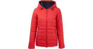 Barbour Red Landry Baffle Quilted Jacket in Red | Lyst &  Adamdwight.com