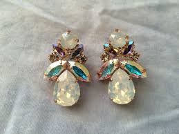 crystal opal bridal jewelry collection the crystal rose bridal jewelry and accessories