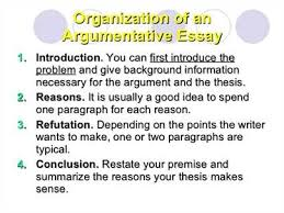 there are four parts of an argumentative essay introduction  argumentative essay introduction essay argument