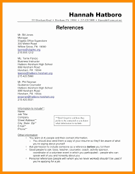 Resume Reference Page Template Resume References format Elegant Resume Templates References Listed 23
