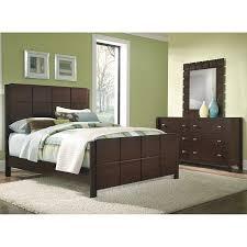 5 Piece Queen Bedroom Set Dark Brown
