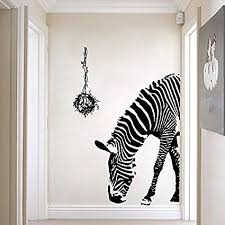 zebra wall decor