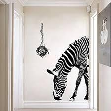 zebra wall decor