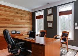 office wood paneling. Wood Panel Wall Industrial-home-office-and-library Office Paneling