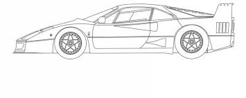 Disegno a biro ferrari modulo. Ferrari Porsche Attivita Per Quarantena Da Coronavirus Motorbox