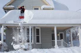 Image result for snow on a roof