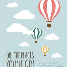 oh the places you ll go set of 2 8x10 dr seuss hot air balloon instant download on dr seuss oh the places youll go wall art with oh the places you 39 ll go set of 2 from februarylane on