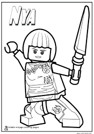 Printable Ninjago Coloring Pages Coloring Pages To Print Coloring