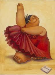 Alberto Godoy pintor cubano reside en Houston, Texas y dice que lo que es  redondo es perfecto. Reconocido por el uso de colores v… | Dancer painting,  Cuban art, Art