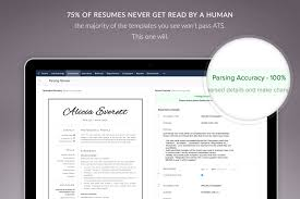 One Page Resume Templates Modern