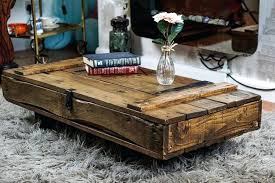 industrial style coffee table throughout designs 10