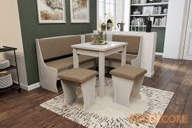 nook furniture. Kitchen Nook Dining/Butterfly Table Set L-Shaped Storage Bench Furniture A