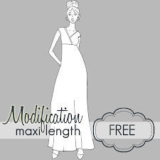 Free Sewing Patterns Pdf Magnificent Pattern Modification Tutorial Maxi Length [Modification