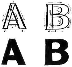 01 block bubble letters
