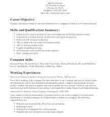 Examples Of Good Objectives On Resumes For Marketing
