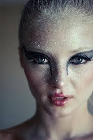 black swan makeup costume