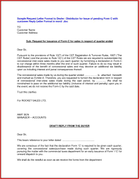 Request Letter Format Distributorship Best Of New Certification