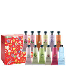 crabtree evelyn hand therapy gift set red 12 x 25g worth