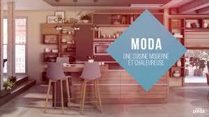 Gamme Moda La Cuisine équipée Contemporaine Et Chaleureuse Youtube