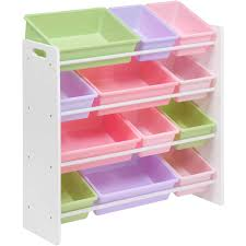 storage bin organizer. Unique Bin Honey Can Do Kidu0027s Toy Organizer With 12 Storage Bins Multicolor   Walmartcom With Bin B