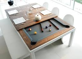Combination Pool Table Dining Room Table Snooker Table Dining Table Combination