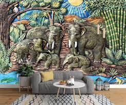 beibehang Custom wallpaper 3D Southeast ...