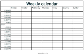 daily time calendar time planner template printable daily planner template time