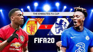 FIFA 20   แมนยู V เชลซี   FA Cup รอบรองชนะเลิศ !! ชมก่อนจริง เสียงพากย์ไทย  - YouTube
