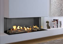 flare frameless linear fireplaces