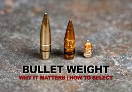 Bullet Grain Bullet Weight A Guide